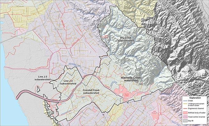 Alameda Creek Watershed ACFCD