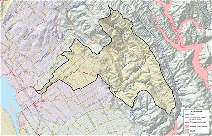 Arroyo Viejo Watershed