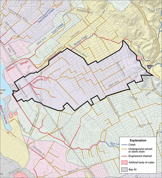 Elmhurst Creek Watershed