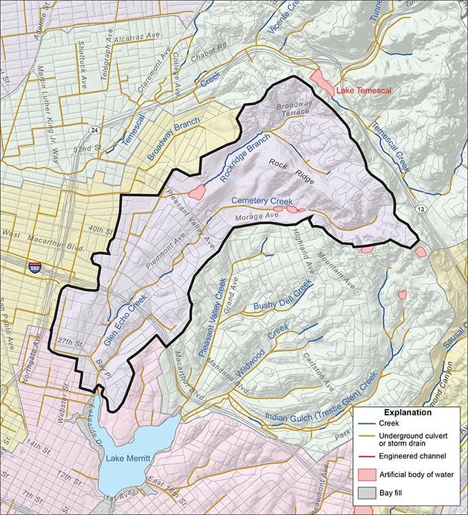 Glen Echo Creek Watershed