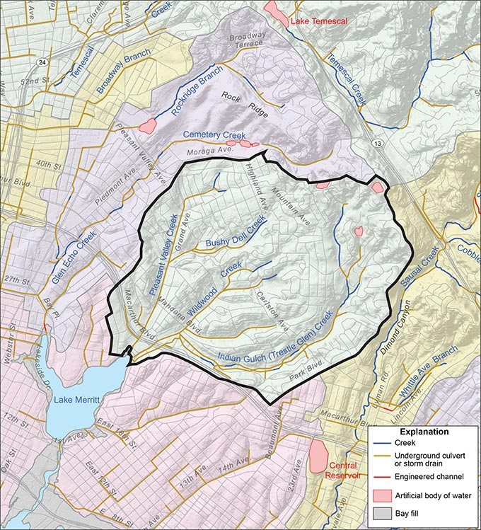 Indian Gulch and Pleasant Valley Creeks Watershed