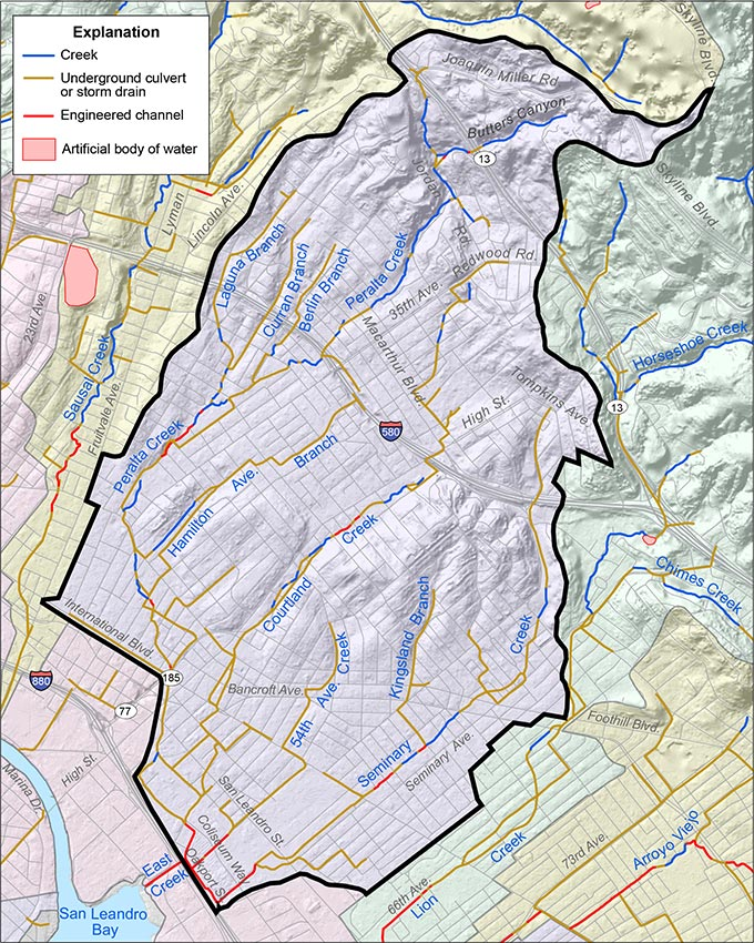 Peralta Creek Watershed