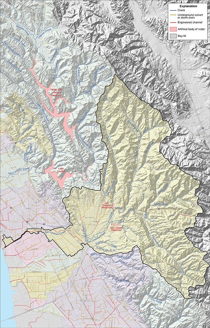 San Lorenzo Creek Watershed