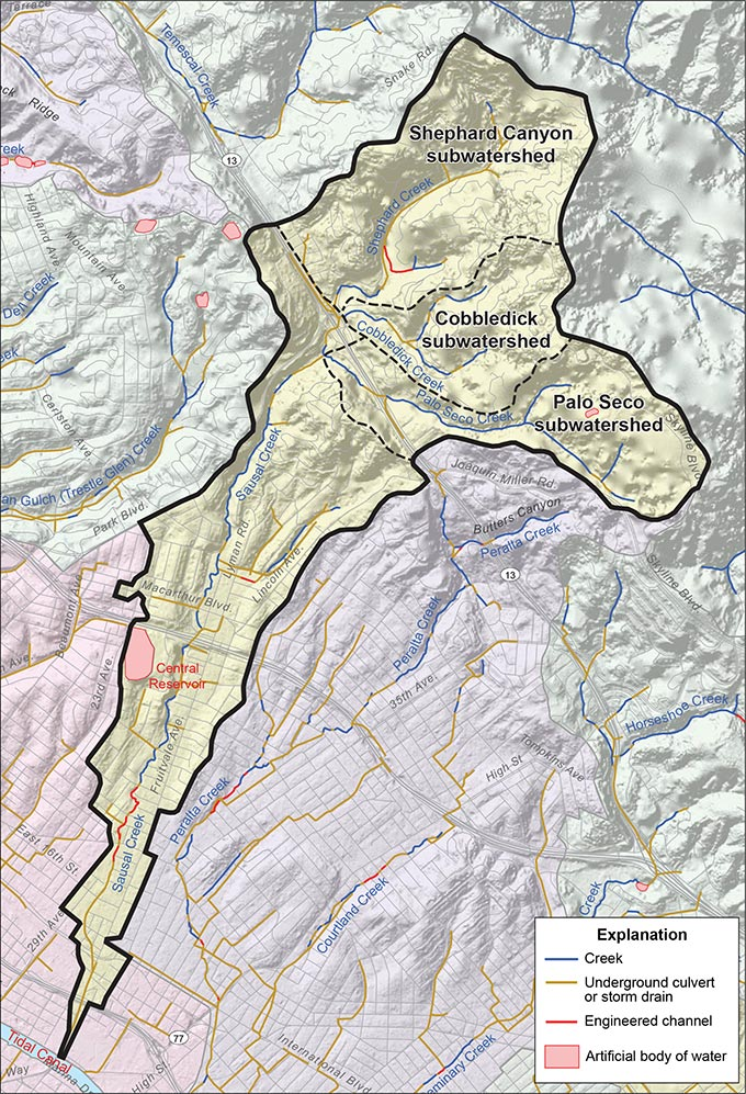 Sausal Creek Watershed