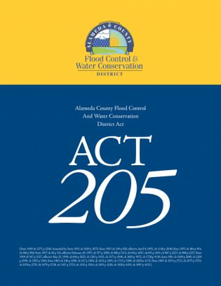Act 205 of the California Uncodified Water Code