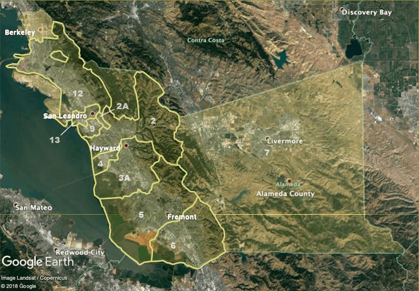 Neighborhood Zones Map